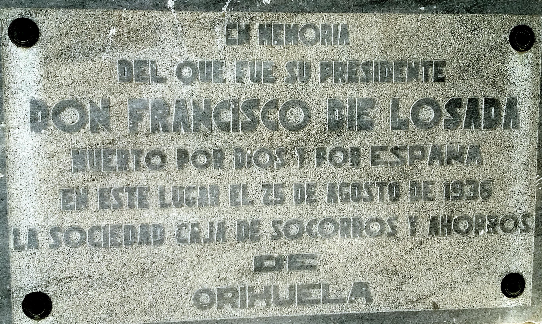 Biografías: Francisco Díe Losada.