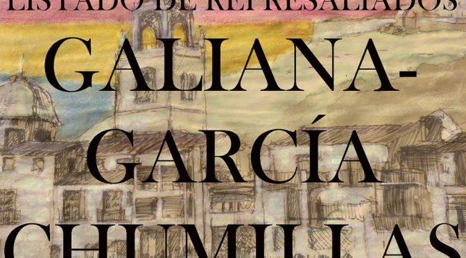 LISTADO DE REPRESALIADOS 21: GALIANA-GARCÍA CHUMILLAS.
