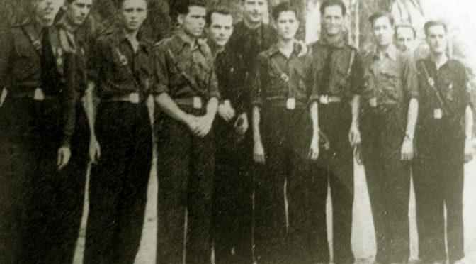 """Los falangistas de la Vega Baja. La """"Invasión de Alicante""""."""