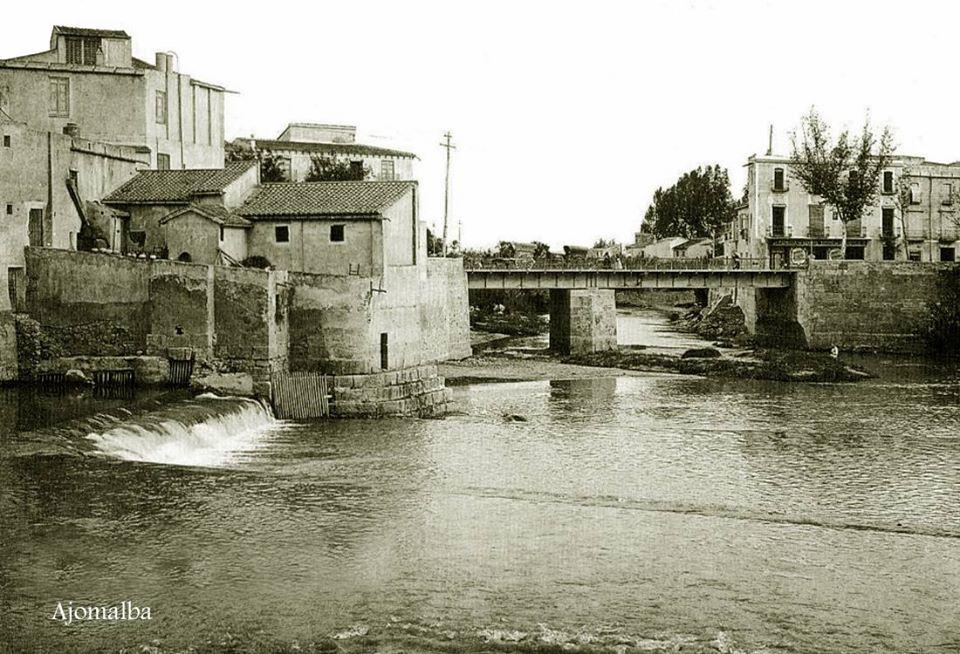Puente de Levante y Molino de Cox