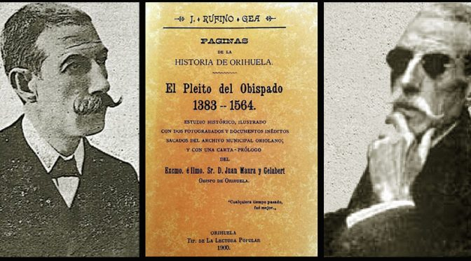 Apuntes para la biografía de Rufino Gea.