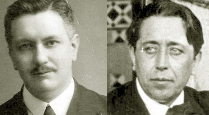 Justo García Soriano y Gabriel Miró