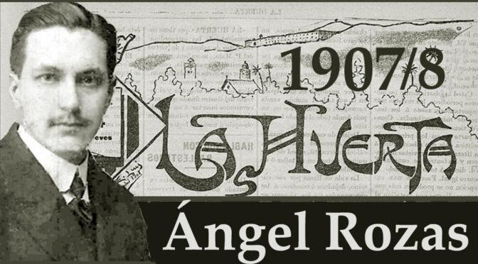 Justo García/Ángel Rozas. 11. 1907/8.